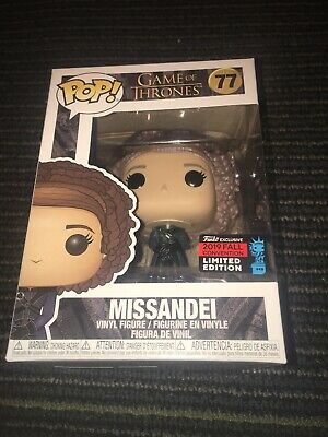 Nycc 2019 Funko Pop Game Of Thrones Missandei Exclusive New York Comic Con Ny