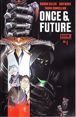ONCE & FUTURE #1 1st PRINTING BOOM STUDIOS KIERON GILLEN SOLD OUT HOT 1st ISSUE