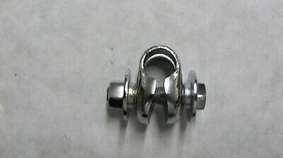 Schwinn Krate upper seat post  clamp, Original re chromed
