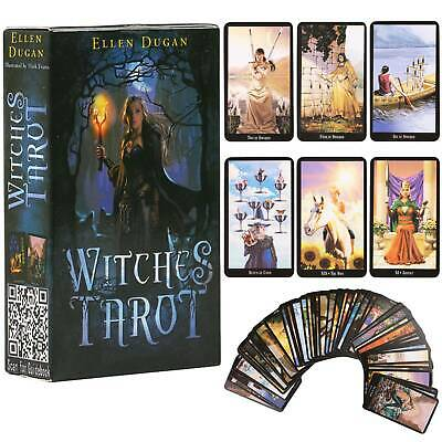 Waite Rider Tarot Deck Cards Witches Fate Future Telling Game Card English Gifts