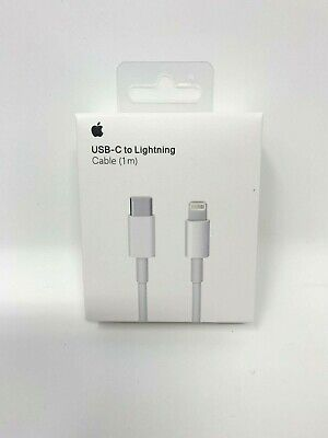 Genuine Authentic FOR Apple USB-C to Lightning Cable 1m Original OEM FAST CHARGE
