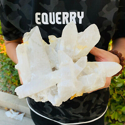 7.5LBNatural crystal crystal cluster large crystal column crystal healing pieces