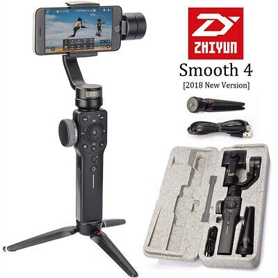 Zhiyun Smooth 4 3-Axis Handheld Gimbal Stabilizer Video Vlog Tripod for iPhone