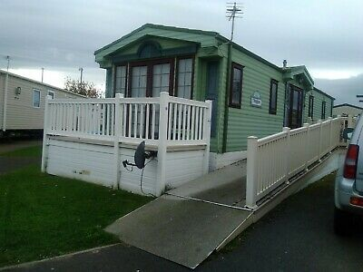 Wheel Chair accessible 6 birth Static Caravan to rent Whitley Bay Holiday Park