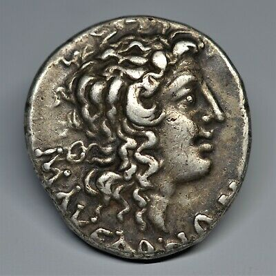 Silver Tetradrachm Of Macedon Under Roman Rule: Aesillas, Quaestor, 95-70 Bc V.f