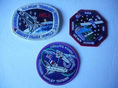 NASA Mission Patches (3) - 2