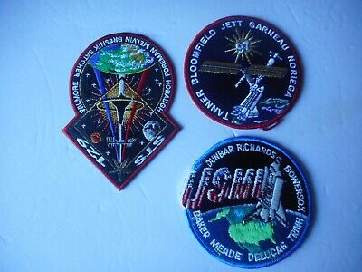 NASA Mission Patches (3) - 3