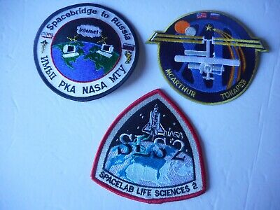 NASA Missions Patches (3) - 5
