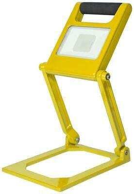 15W Rechargeable Folding LED Worklight, Yellow, 1000lm