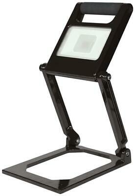 15W Rechargeable Folding LED Worklight, Black, 1000lm