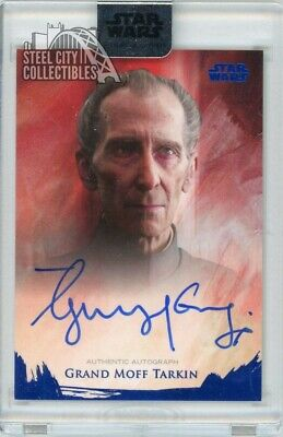 Guy Henry Grand Moff Tarkin 2018 Topps Star Wars Stellar Signatures Auto 16/25