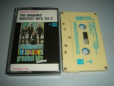 THE SHADOWS' GREATEST HITS VOLUME II Cassette Tape/