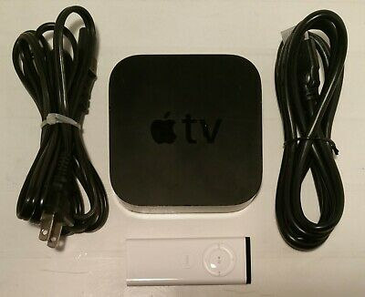 Apple TV Model A1427 3rd Generation Smart Media Streaming Player w/ Remote