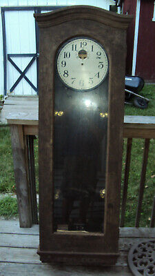 Antique Standard Electric Time Co. Master program school wall clock parts repair