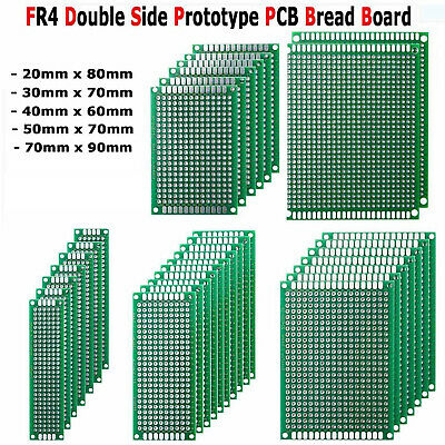 35X Double-Sided PCB Circuit Module Board Prototype Breadboard Parts For ARDUINO