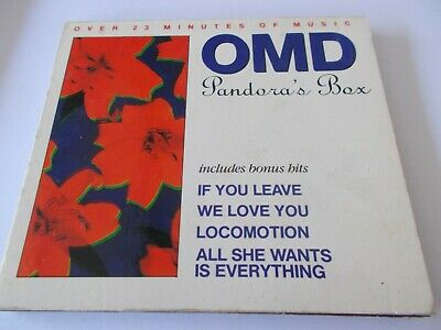 Omd / Orchestral Manoeuvres In The Dark-Pandora's Box - Oz 5 Trk Cd - Digipak