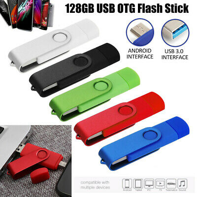 128GB UK Swivel Flash Memory Drive USB 3.0 High Speed Storage U Stick Pen Thumb