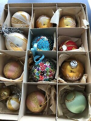 Vintage 1960's Christmas Assorted decorations