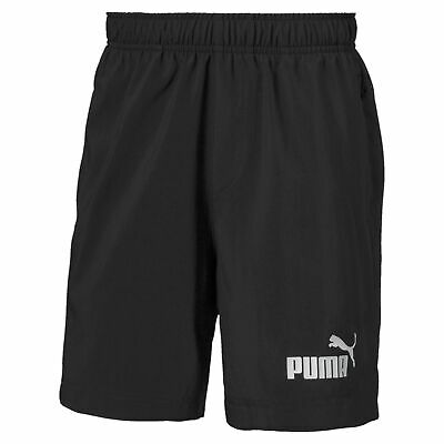 PUMA Kinder Essential Woven Shorts 5 Boys Puma Black in 128 140 152 164 - NEU