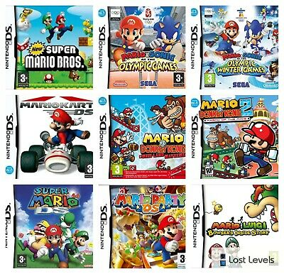 Ds - Mario Series - Same Day Dispatched - Boxed - VGC - Nintendo