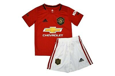 Kit Manchester United Home For Kid New With Tags 2019/20 Season Uk Limited Stock