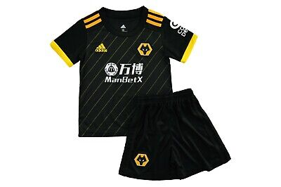Kit Wolverhampton Wolves Away For Kids New With Tags 2019/20 Uk Limited Stock