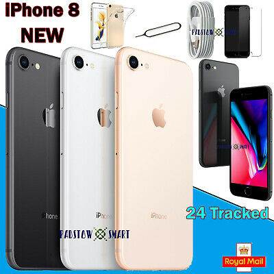 NEW Apple iPhone 8 Smartphone 64GB 256GB Unlocked SIM Free Various Colours UK