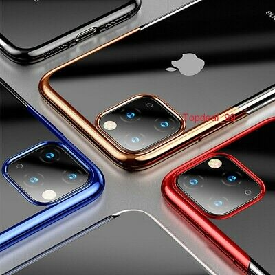 Case for iPhone 11 Pro Max ShockProof Soft Phone TPU Silicone Protective Cover