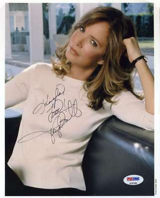 JACLYN SMITH PSA DNA Hand Signed 8x10 Photo Autograph Authentic