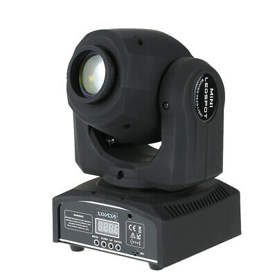 50W RGBW Gobo Pattern Moving Head Light LED Stage Effect Lamp DMX-512 F8H1