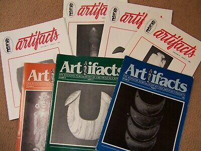 "7 Copies Of The Early Journal ""Artifacts"" From 1985 And 1986"