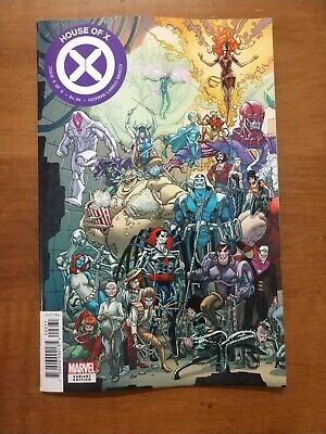 House Of X #6 Garron Connecting Variant Cover Hickman Marvel Comics