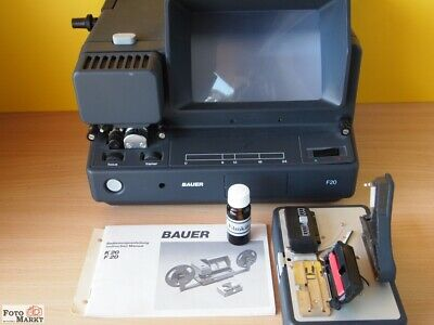 Bauer Super-8 Film Watcher F20 + Press K20 + Filmkitt S8