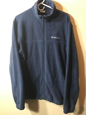 COLUMBIA MENS SLOT Canyon Hoodie Jacket Size Large Full Zip