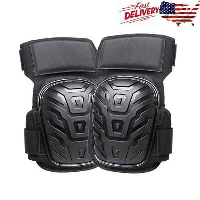 Professional GEL Knee Pads Construction Pair Comfort Leg Protectors Work Safety