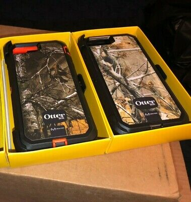 Iphone 8 Plus 7 Plus Otterbox Defender Realtree Camo Cases 2 Colors + Holster