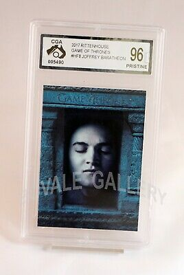 Joffrey Baratheon Game Of Thrones Insert Card Graded Pristine