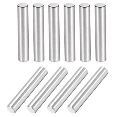 10Pcs 6mm X 35mm Dowel Pin 304 Stainless Steel Cylindrical Shelf Support Pin