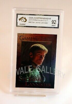 Jaime Lannister Game Of Thrones Card Graded Mint