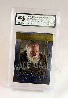 Grand Master Pycelle Game Of Thrones Gold Card Graded Pristine