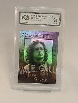 Jon Snow Game Of Thrones Card Graded Mint