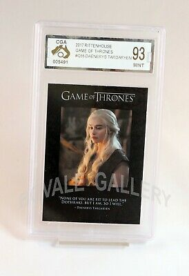 Daenerys Targaryen Game Of Thrones Card Graded Mint