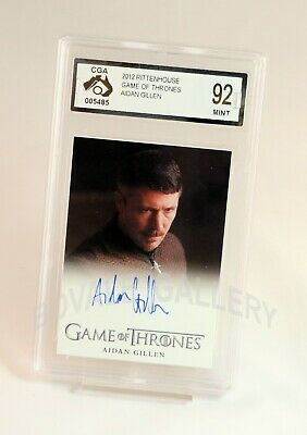 Aidan Gillen Game Of Thrones Auto Card Graded Mint