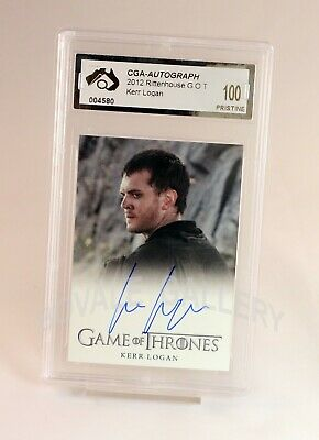 Kerr Logan Game Of Thrones Auto Card Graded Pristine