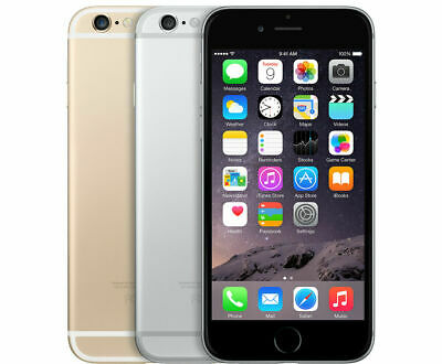 New Apple iPhone 6 16GB 64GB 128GB Smartphone Factory Unlocked Various Colour UK