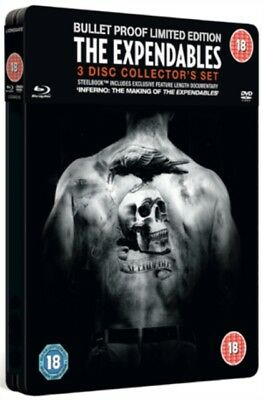 Nuovo The Expendables Steelbook DVD+Blu-Ray