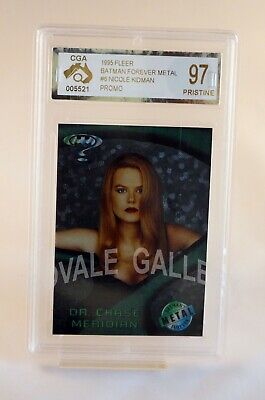 1995 Fleer Batman Forever Nicole Kidman Card Graded Pristine