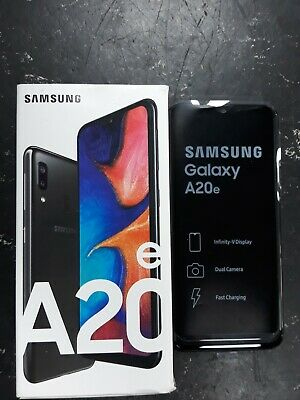 """NEW Samsung A20E 5.8"""" Octa 3GB 32GB NFC Android 9 Dual Cam 4G Mobile Smart Phone"""