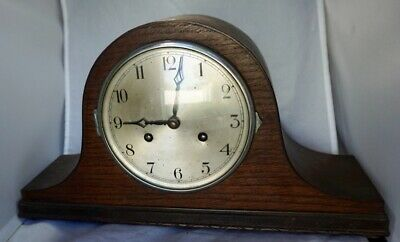 sanders & company goldsmiths antique mantle clock chiming working