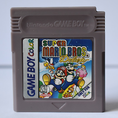 Super Mario Bros. Deluxe Gbc - With Cover - Read Description